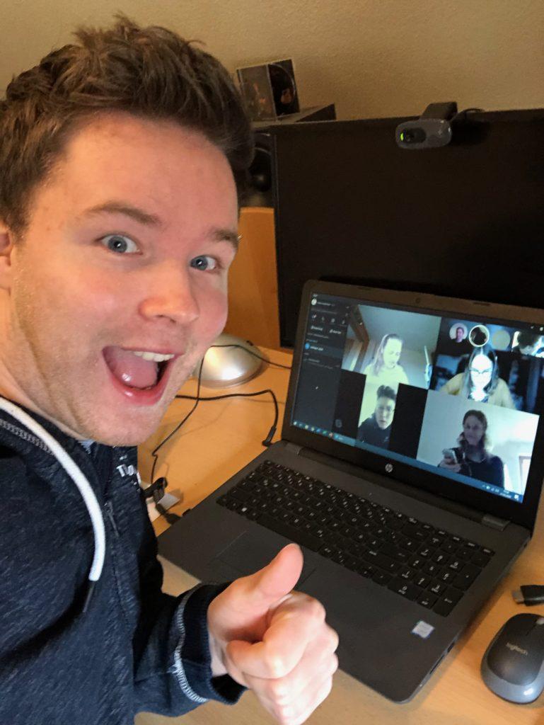 Leitertreffen bei Skype