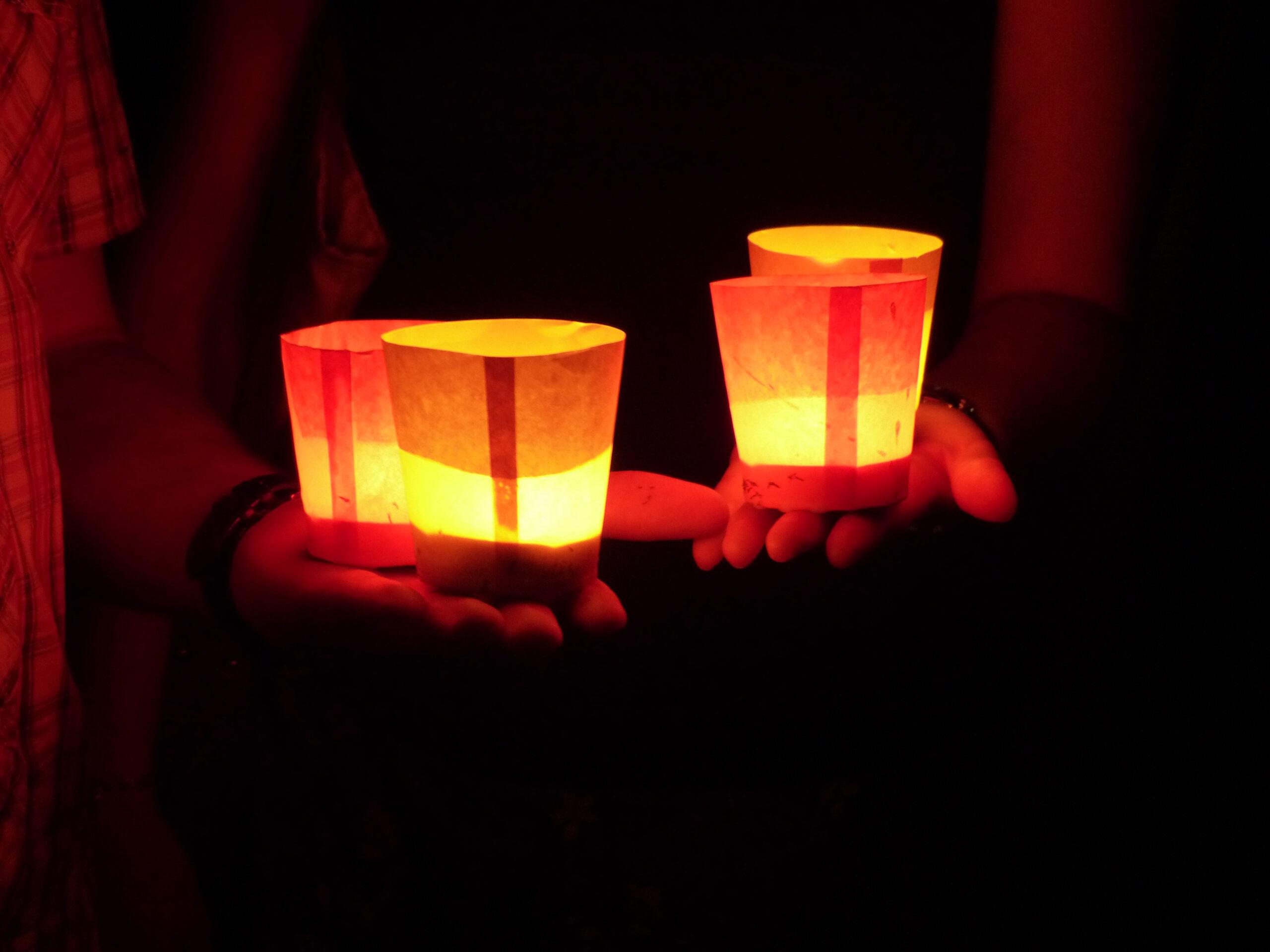 Kerzen Lichtfest Advent