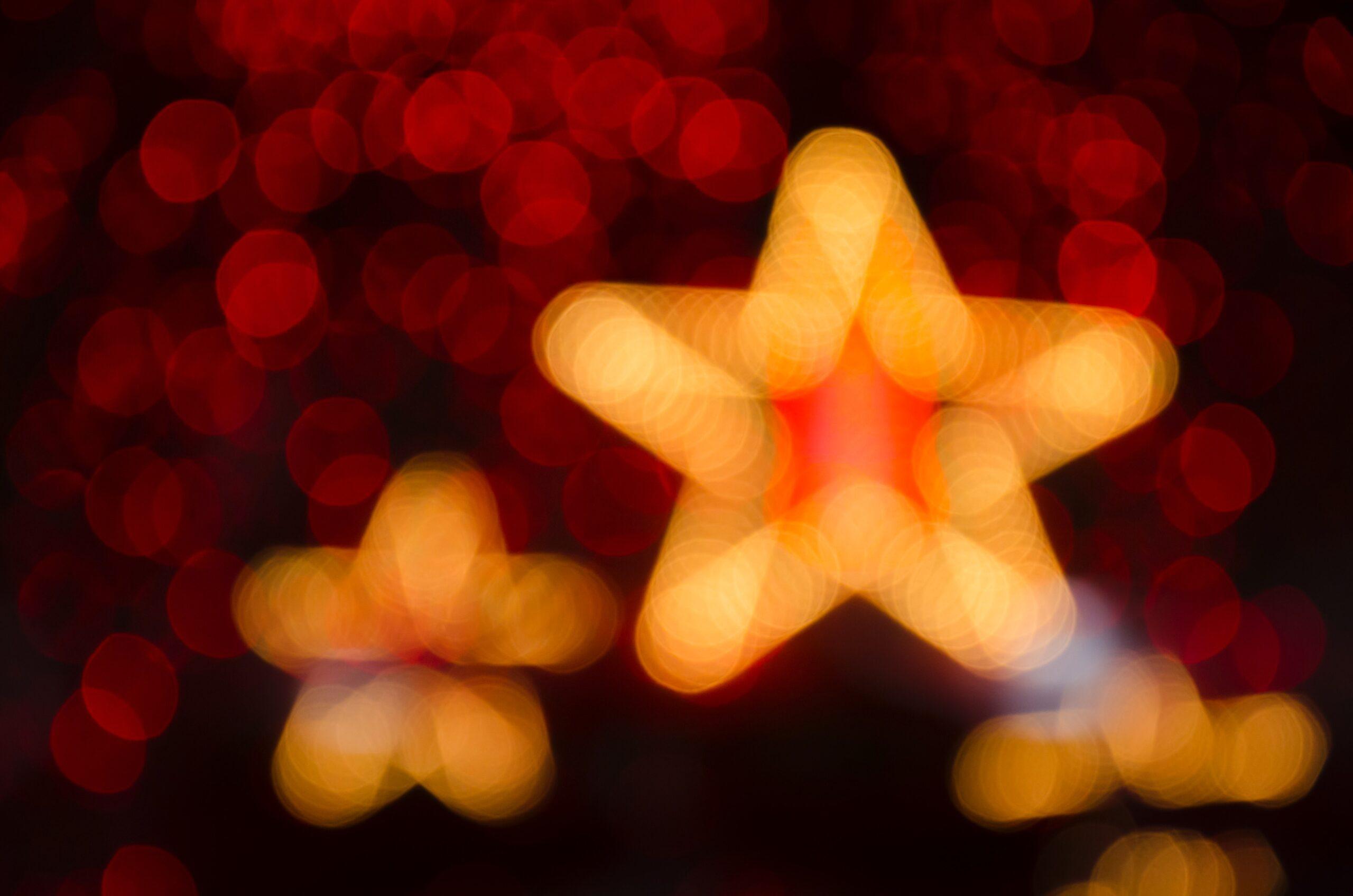 Sterne im Advent